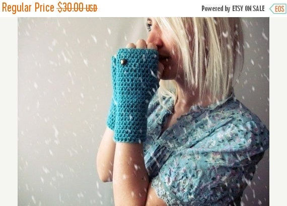 Sale Fingerless gloves crochet hand warmers tight knit gloves for women fingerless gloves womens knit hand warmers crochet mittens serenity