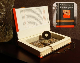 Hollow Book Safe (To Kill a Mockingbird)