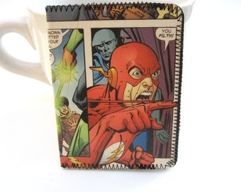 Recycled Comic ID,Bus or Metro Pass,Library Card Holder / Wallet