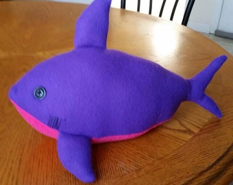 Customize your Shark Pillow Plush /Great White Shark / Stuffed Toy shark / bath toy Sea animal / Plushie  inspired by the movie Finding Nemo