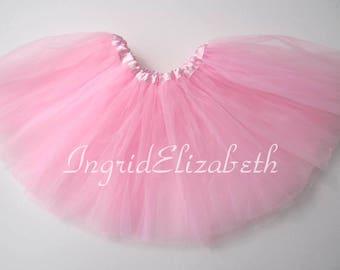 Pink Tutu Ballet 4-Layer Skirt / FAST SHIPPING / Child Toddler Costume, Birthday Tutus, Dress Up tutus, Dance tutu, Princess tutu