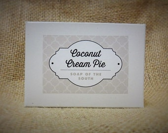 Coconut Cream Pie Bar Soap