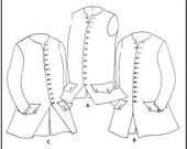 J. P. Ryan - 18th Century Men's Waistcoat - Sewing Pattern - Size 40