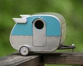 Vintage Camper Birdhouse