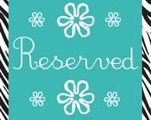 Reserved for Vianny