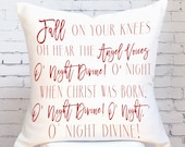 Pillow Cover Fall on Your Knees Christmas Decor