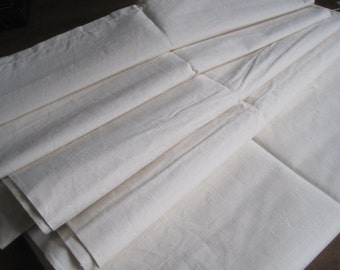 Quality unused French linen metis sheet.  Great curtain or upholstery fabric.