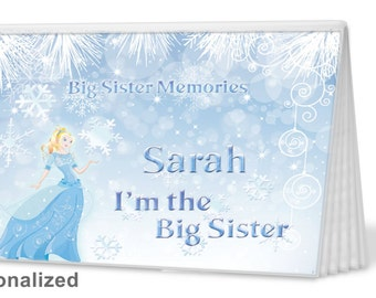 Brag Book - Ice Princess -- I'm The Sister Brag Book - Photo Album -  Big Sister Gift, Big Brother Gift