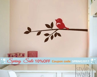 Branch Wall Decal Etsy - Custom vinyl wall decals groupon