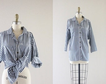 ON SALE oversized dolman button down