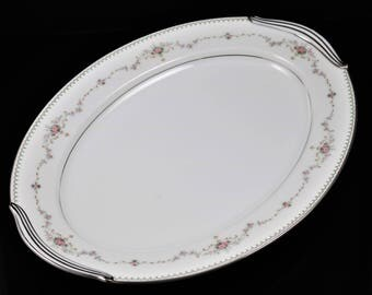 Noritake Fairmont China 14 Inch Oval Platter(s), (2 Available)