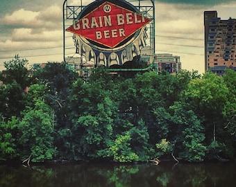 Grain Belt Beer sign photo