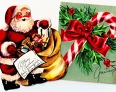 Vintage Christmas Cards ~ C3