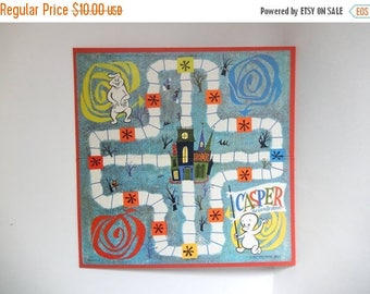 Mid Century c. 1959 Casper the Ghost Game Board