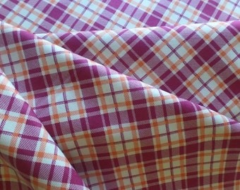 Fabric Yardage - Quilting Weight Cotton - Denyse Schmidt - Franklin - Dad S Plaid - Glade - PWDS087.GLADE