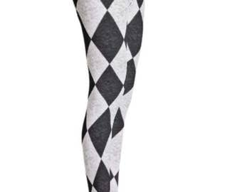Harlequin Damask Leggings