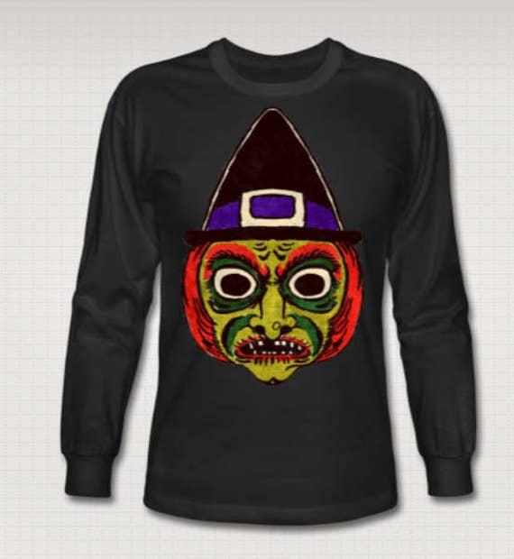 Witch Mask long sleeve jersey