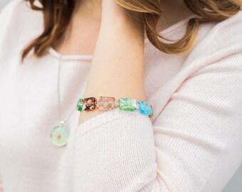 Mosaic Jewelry, Murano Glass Bracelet, Murano Glass, Jewelry