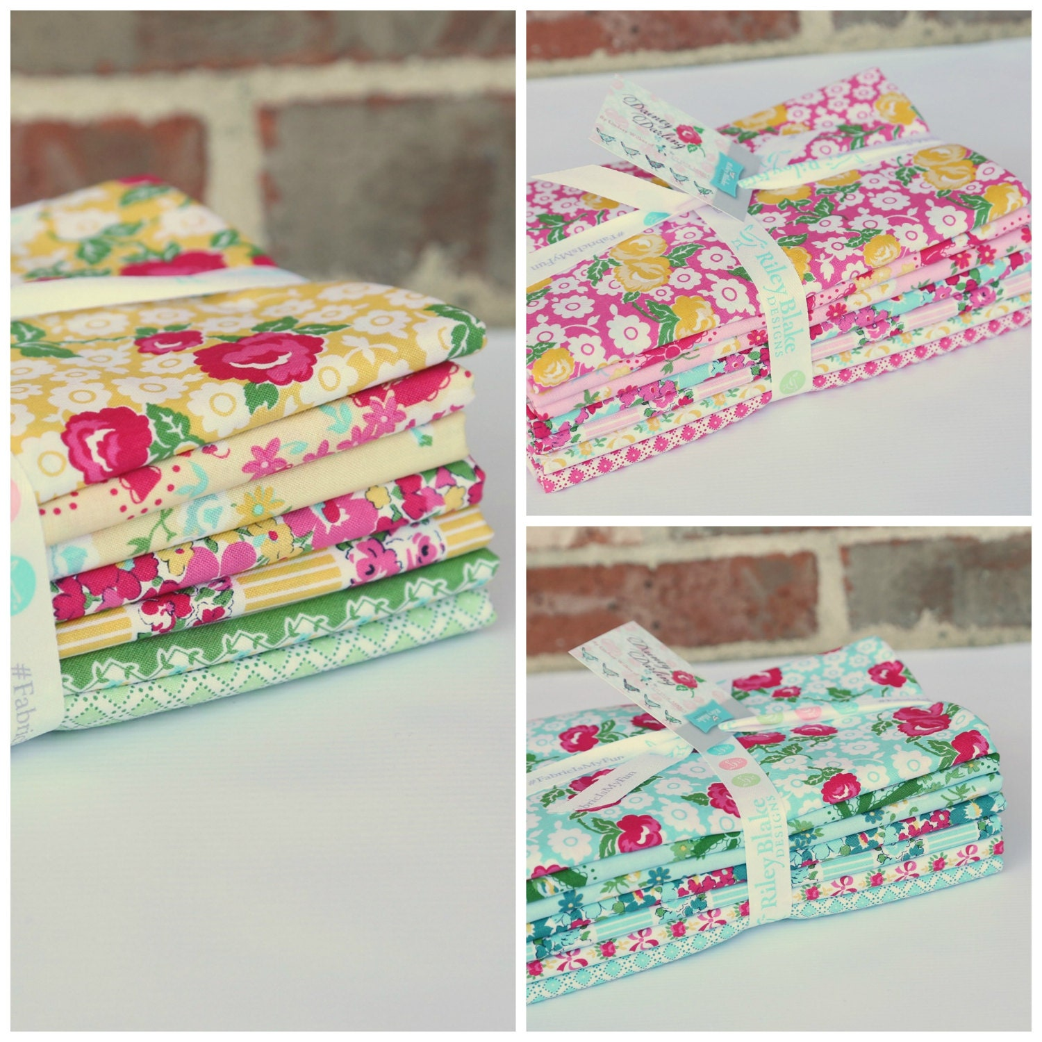 Dainty Darling Fabric by Lindsay Wilkes for Riley Blake Designs -Entire Collection - 21 yards