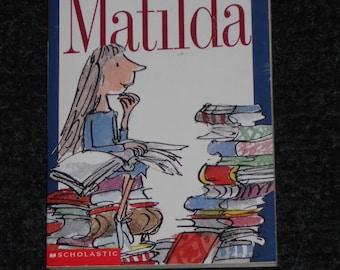 Matilda-Roald Dahl-Scholastic Books
