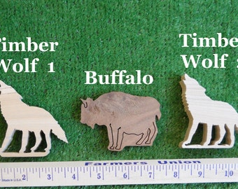 Wood Wolves and Buffalo