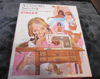 Accessories Kit Singer 758 Model Touch & Sew Deluxe Zig Zag Sewing Machine