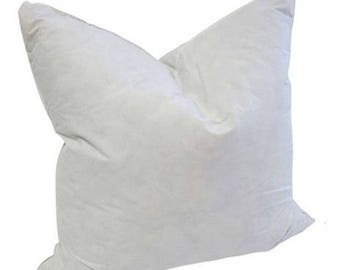 12 x 12 Square Goose Feather Pillow Form Insert