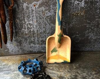 """Toy Shovel / Beach Toy / 1950's Rubber Shovel / Sand Shovel / 8"""""""