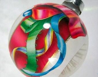 2016 Holiday SALE Christmas Ornament Vintage 1984 Hallmark Holiday Starburst