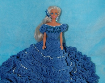 Crochet Birthstone Barbie Dress March/Annie's Attic