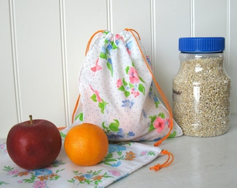 Medium Bulk Bag, reusable cotton bag for zero waste bag purchase