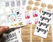 Mystery Sticker Destash Pack - small shop owner edition - RANDOM MIX