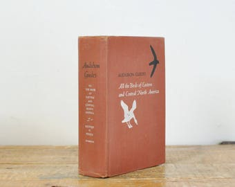 Vintage 1953 Audubon Guides Bood All The Birds of Eastern and Central North America Hard Cover Book Illustrated