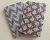 Travelers Notebook Folder Insert- Set of 2 Micro Mini