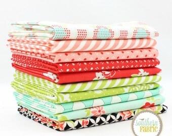 "Handmade - Fat Quarter  Bundle - 10 - 18""x21"" Cuts - Bonnie and Camille - Moda Quilt Fabric"