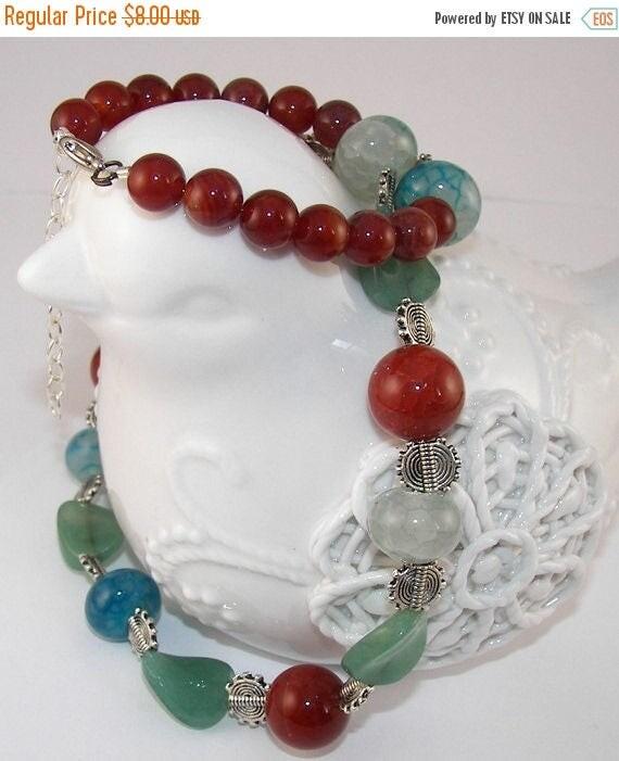 Boho Chic Necklace, Bohemian Necklace, Handmade Boho Necklace, Festival Necklace, Handmade Jewelry