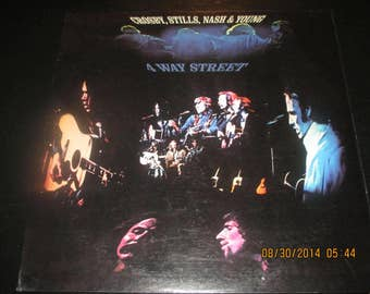 Crosby, stills, nash and young NM vinyl - 4 Way Street - Lp in NM-  Condition