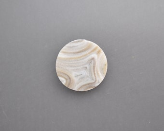 Natural Chalcedony Drusy Cabochon