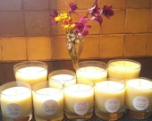 Lavender Citrus Beeswax Essential Oil Candle