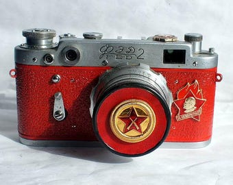 1958! Made in USSR FED-2 camera Russian Leica with -=For Active Work=-