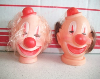 Plastic Circus Clown Head