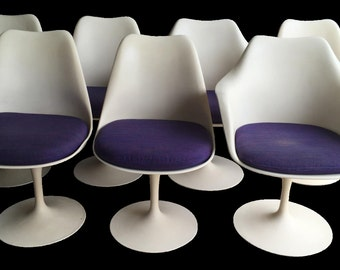 Knoll Saarinen Tulip Chairs - Set of 7