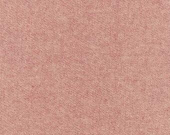 Cranberry Red Tweed Look Tahoe Flannel by Robert Kaufman, 1 yard