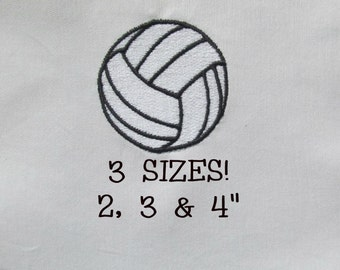 Buy 1 Get 1 Free!  Volleyball Embroidery Design Sports Ball Embroidery Design Mini Volleyball Small Volleyball Machine Embroidery Design