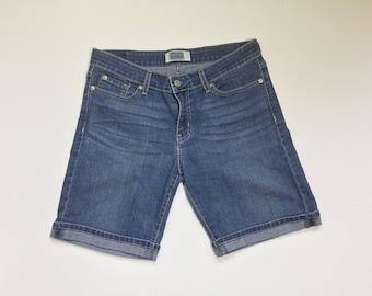 Levi's cut offs, woman's shorts,  Levi's shorts, denim shorts, jean shorts, summer denim, vintage denim, vtg denim shorts