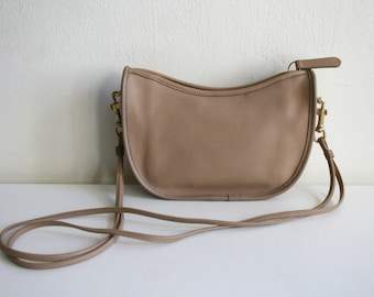 Rare Camel Leather Coach Purse