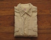 mens vintage Brooks Brothers brooks flannel pop over shirt
