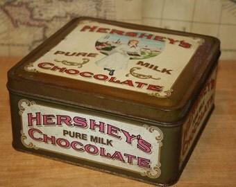 1992 Hearshey's Milk Chocolate Tin - item #2391