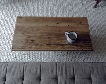 Mid-Modern Reclaimed Wood Coffee Table