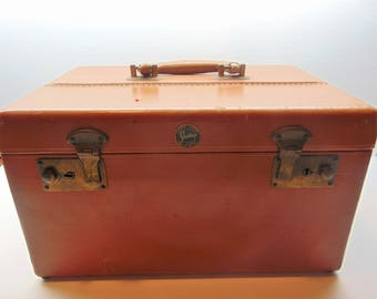 Vintage Short Trip Travel Train  Case